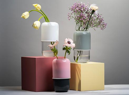 Muurla - capsule vases - blomster designs - uk stockists