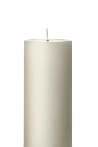 Ester & Erik Sand Pillar Candle 06 - 15cm - Matt