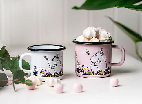 Muurla Moomin - Hug - Blomster designs