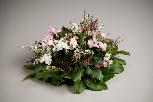 Woodland Posy Arrangement - funeral flowers