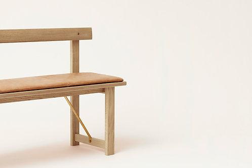 Form and Refine Position Bench - White Oak - scandinavian interiors