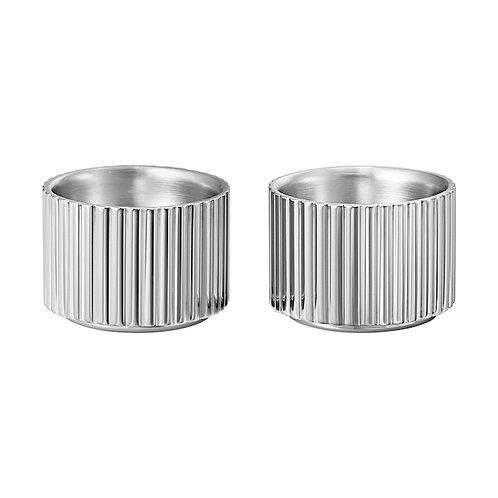 Georg Jensen Bernadotte Egg Cup Set - Stainless Steel