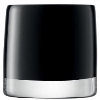 LSA Light Colour Tealight Holder H8.5cm Black