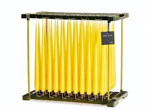 Ester & Erik Yellow Taper Candle 15 - 32cm - Matt