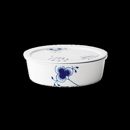 Royal Copenhagen Blue Fluted Mega Bowl With Lid - 145cl