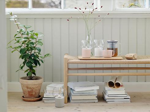 Rig-Tig Hugge Hurricane - scandinavain furniture - bench - blomster designs - uk stockists