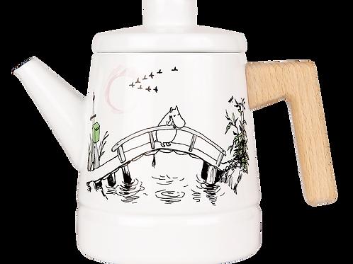 Moomin Originals Enamel Coffee Pot - Missing You