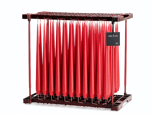 Ester & Erik Dusty Red Taper Candle 33 - 32cm - Matt