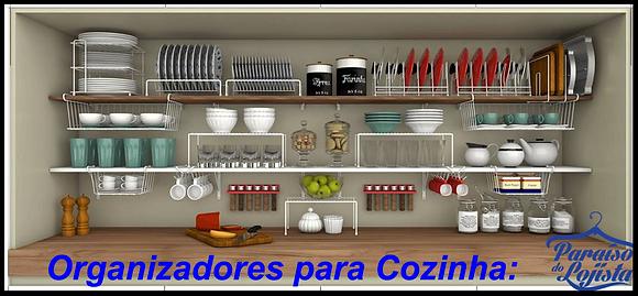 Organizadores para Cozinha