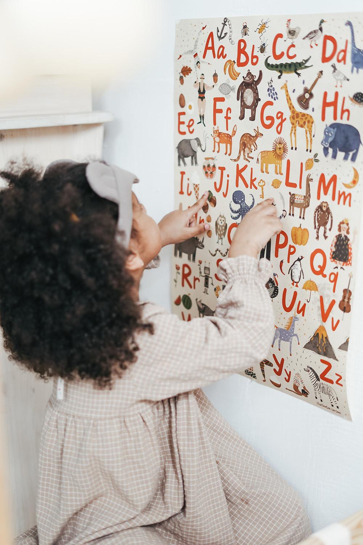 alfabeto linguagem montessori