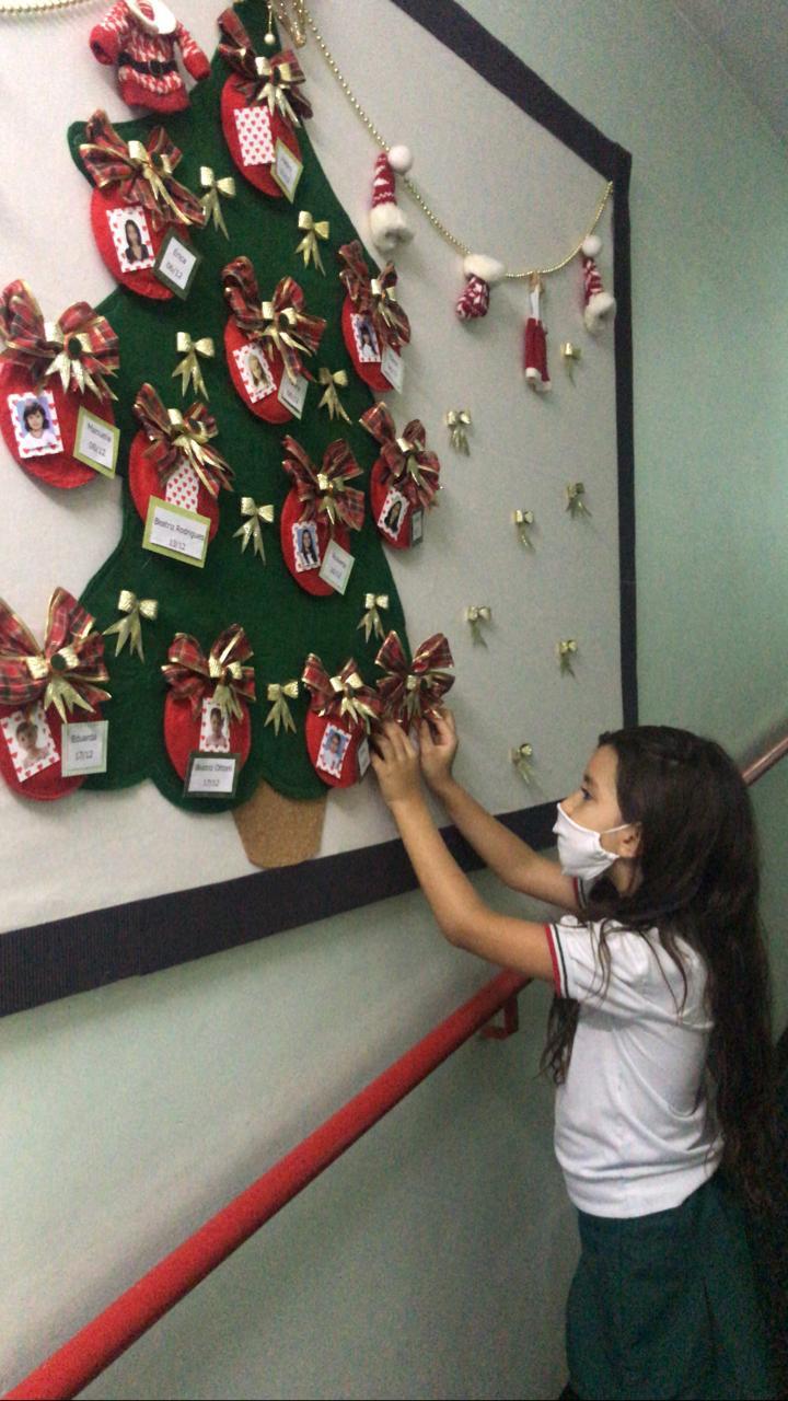 árvore de Natal Montessoriana