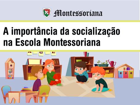 A importância da socialização na Escola Montessoriana