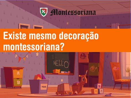 Existe mesmo decoração Montessoriana?