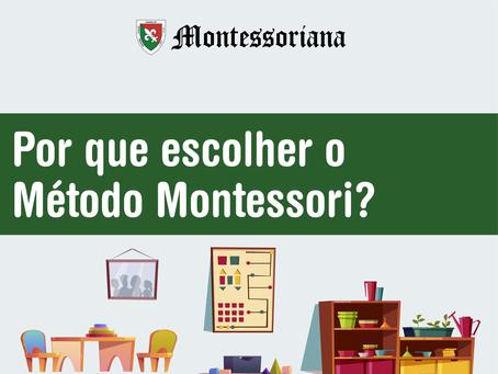 Por que escolher o Método Montessori?
