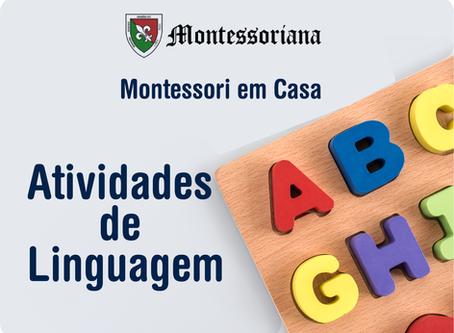 Montessori em casa: Atividades de linguagem