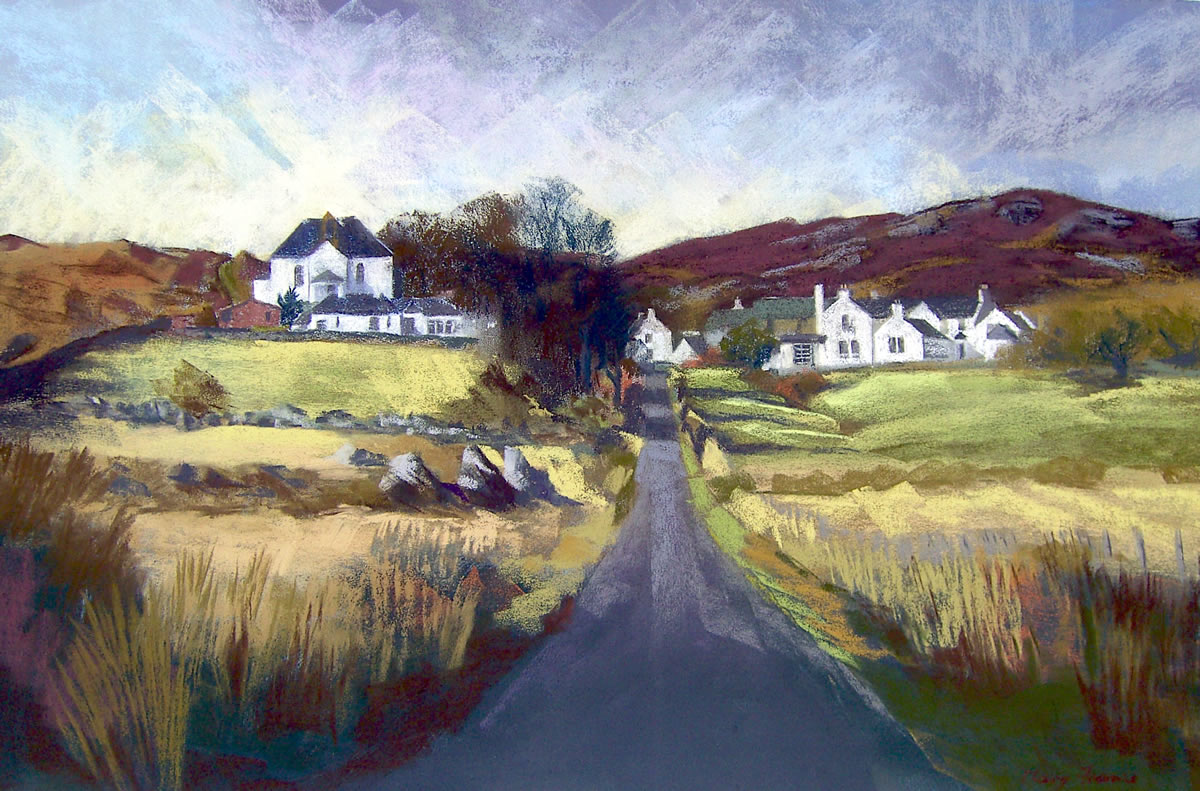 Colonsay Hotel and Kirk
