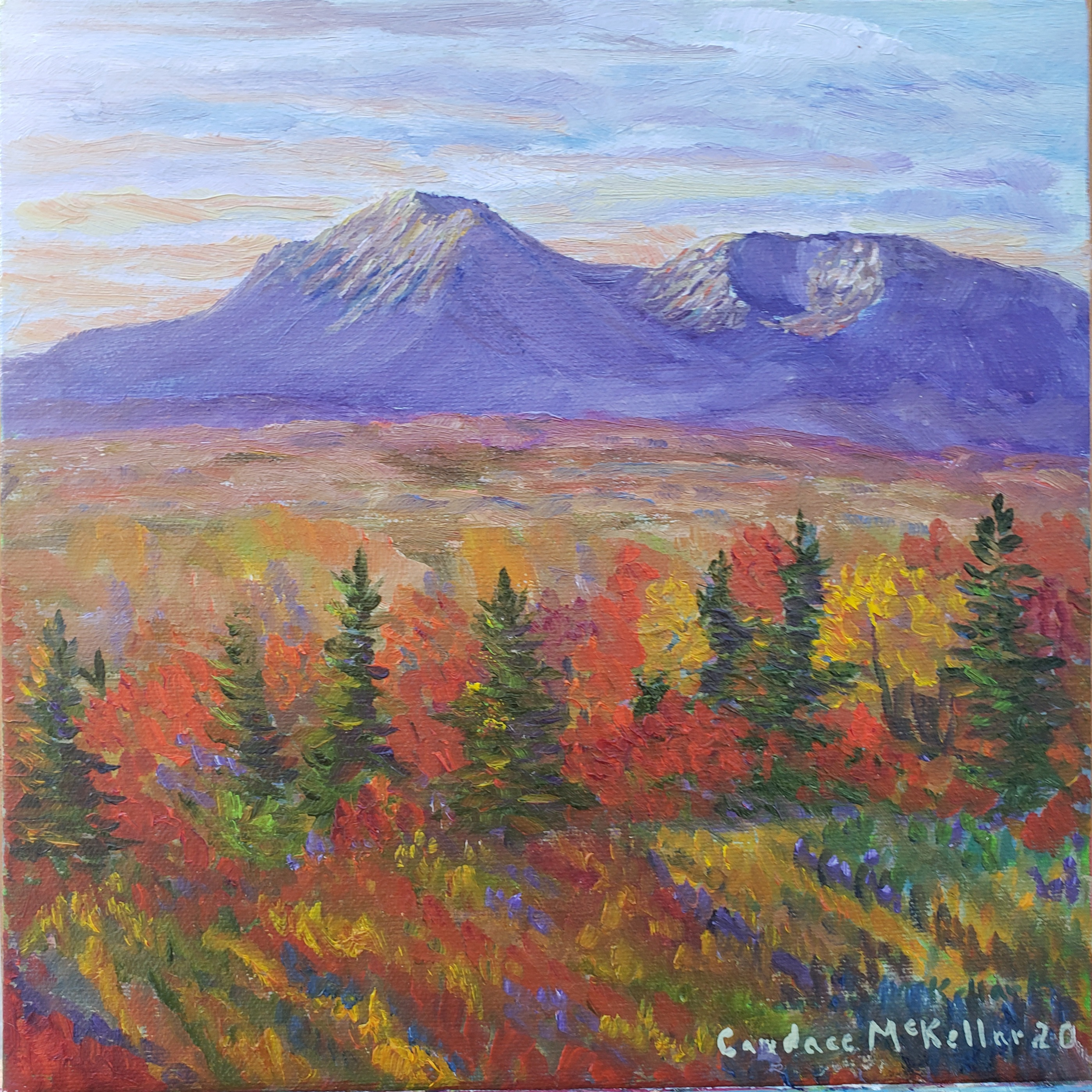 East of Katahdin in Autumn