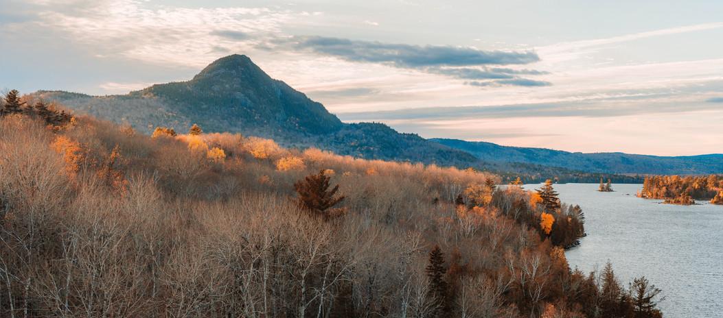 Borestone Sunset Panorama