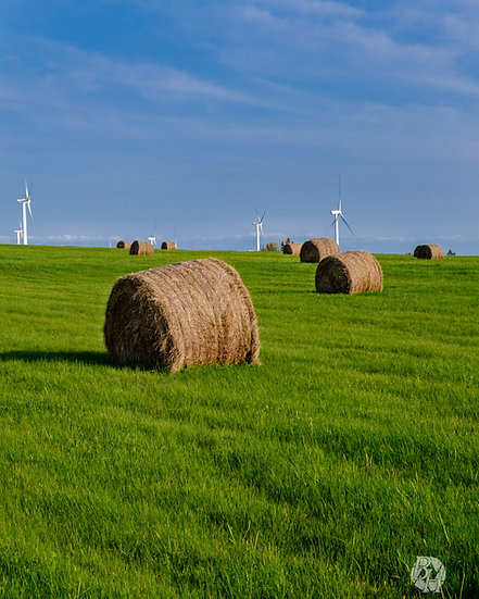 Turbines and Bales