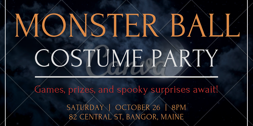 Monster Ball Costume Party!