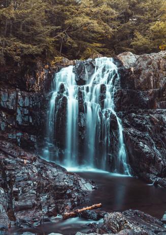 Houston Brook Falls, Bingham, ME