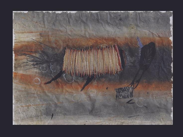 Bird Totem in Wash