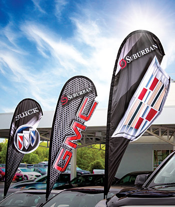 E Z Line The Greatest Name In Auto Dealer Products 3d Flags