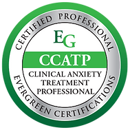 A badge reports that Meredith Waller, LCSW is a Certified Clinical Anxiety Treatment Professional