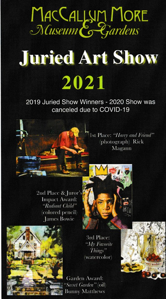 Juried Art Show 2021 Information on how to submit your art.
