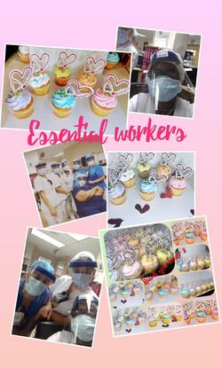Triniflavor Honor Essential Workers