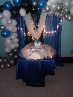 Blue Set up
