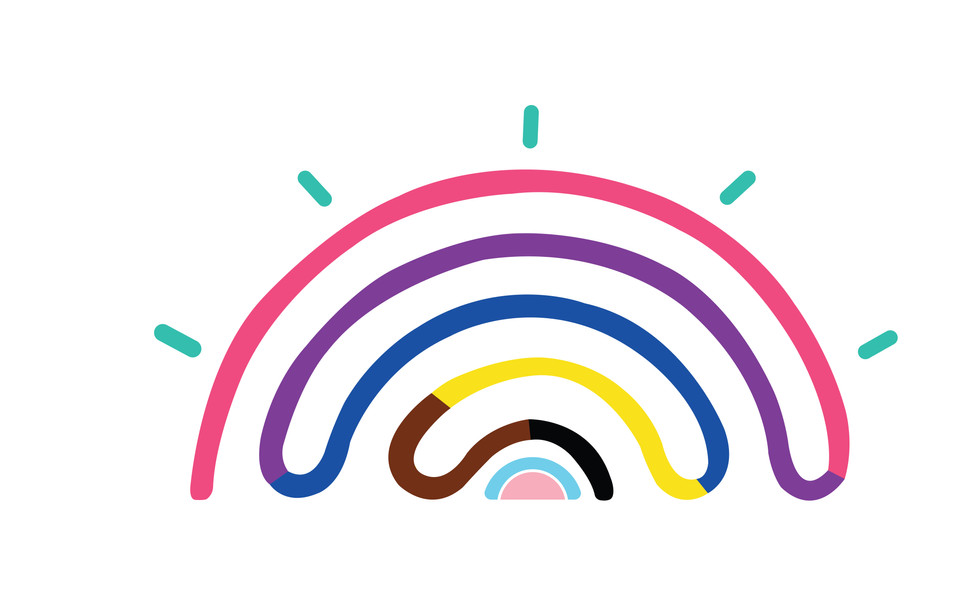 Moranbah Rainbow Collective Logo