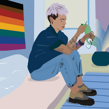 Rainbow Door get support
