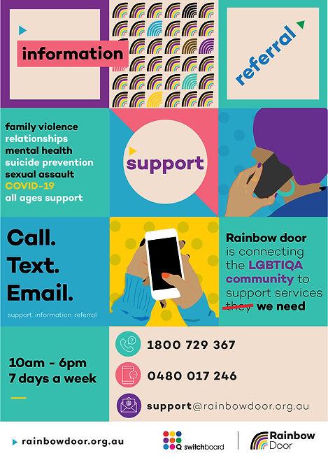 Rainbow Door poster