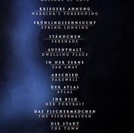 Schwanengesang NYC Recital 2021 Full Program Poster