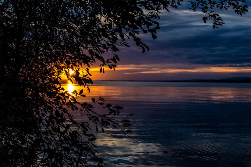 COLOUR - Autumn Sunset by Iris Rainey  (10 marks)