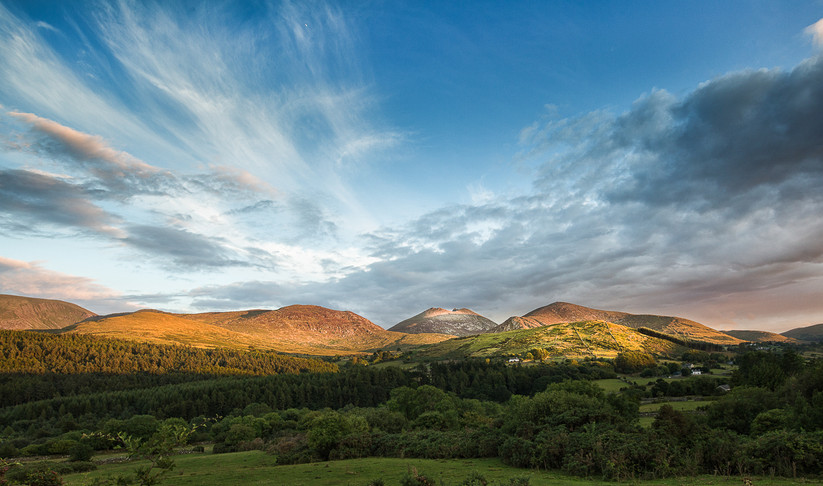 COLOUR - Western Mournes by Alan Chowney (9 marks)