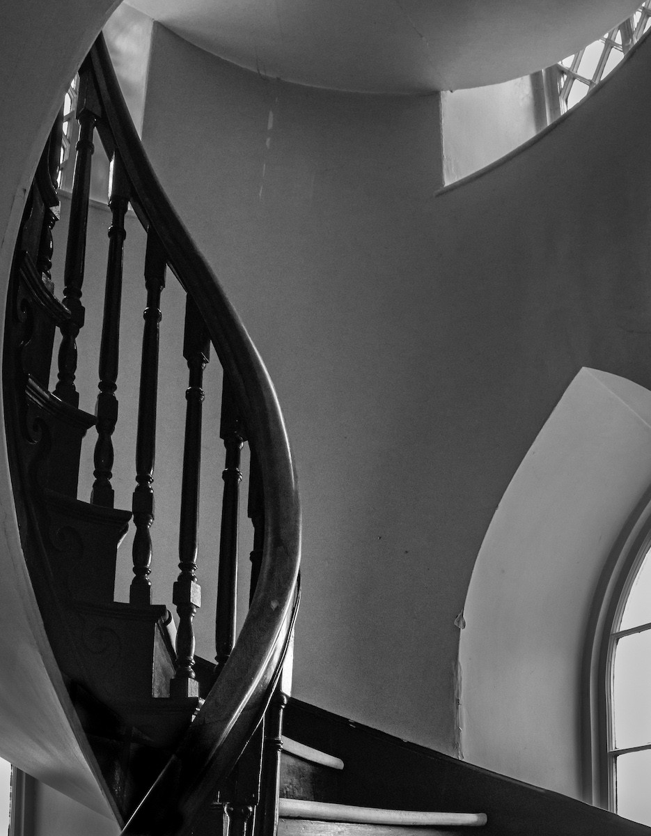 MONO - Dominican College Staircase by A.P. Cameron - Mitchell (6 marks)