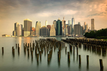 COLOUR - Morning Light On Manhattan by Mark McConnell (13 marks)