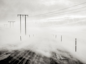 """Bad Weather, Grundarfjordur"" by Vittorio Silvestri (18 marks)"