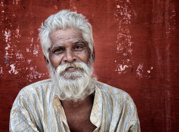 """""""Bearded Man"""" by Hugh Wilkinson"""