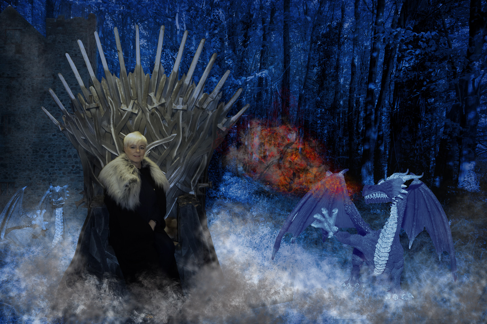 COLOUR - A Song of Ice and Fire - George RR Martin by Stephen McComb (10 marks)