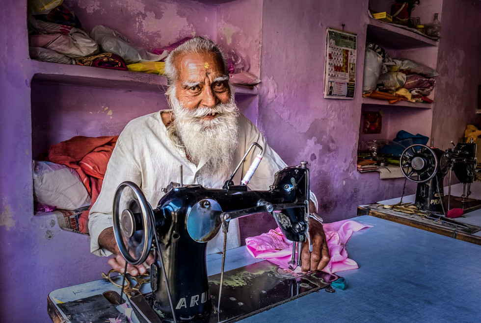 PDI - The Tailor of Jodhpur by Gerry Andrews (18 marks)