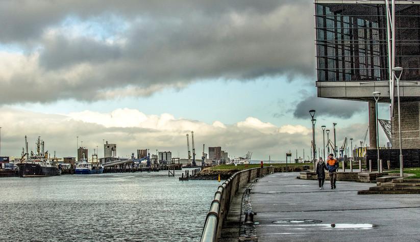 COLOUR - Titanic Quarter Stroll by Sandra Browne (8 marks)