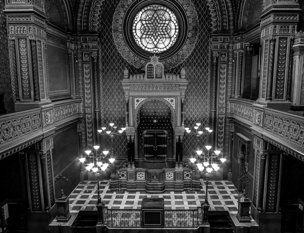 MONO - Synagogue Decor by Paul Brooks (9 marks)