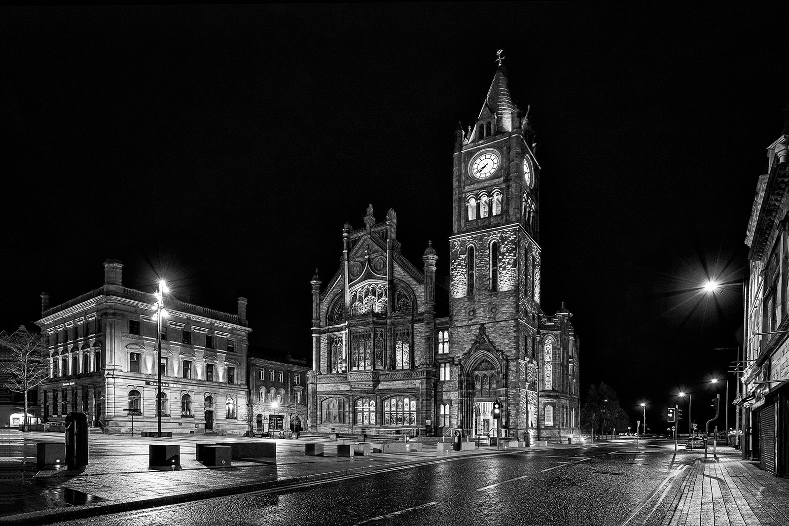 MONO - The Guildhall by Geradette McGuinness (11 marks)