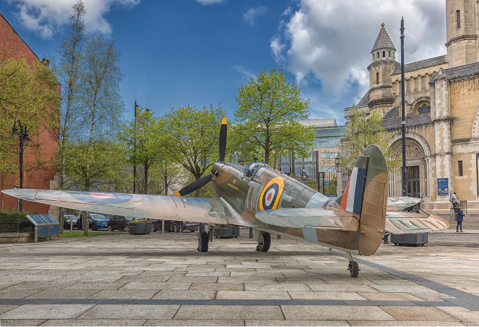 PDI - Belfast Spitfire by Alan Chowney (8 marks)