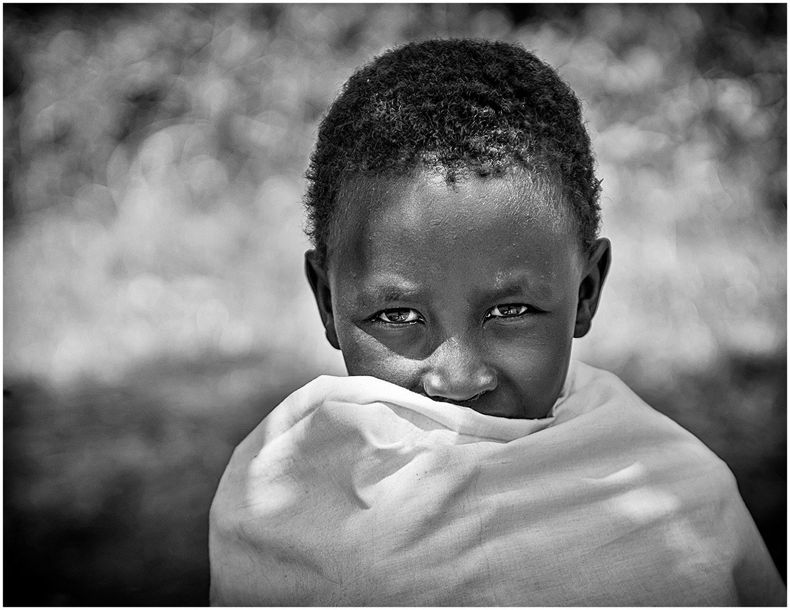 MONO - Massai Boy by Brendan Hinds (9 marks)