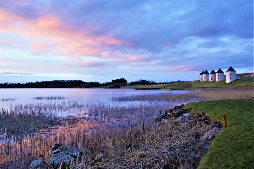 COLOUR - Fermanagh Sunset by Caroline Johnston (9 marks)