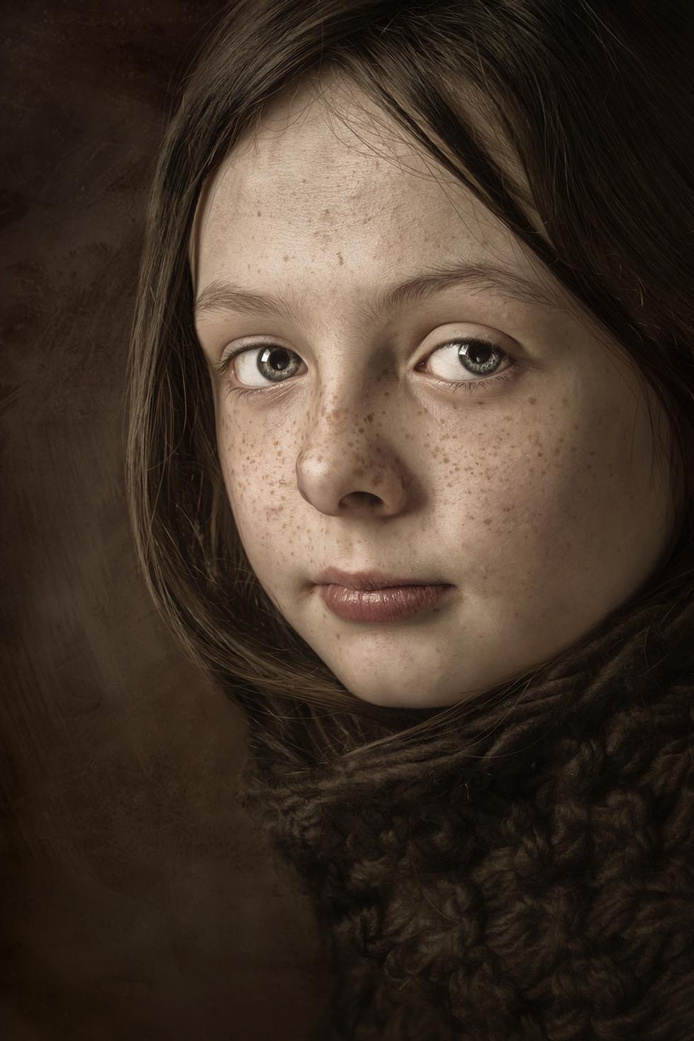 COLOUR - Sarah by James Cosgrove (20 marks)